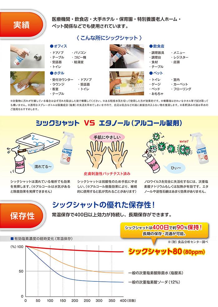 友心接骨院で使用している除菌剤